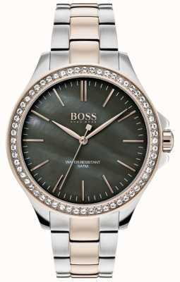 BOSS |レディースツートーンステンレススチールブレスレット| Jewelry-stores.co.uk 1502452