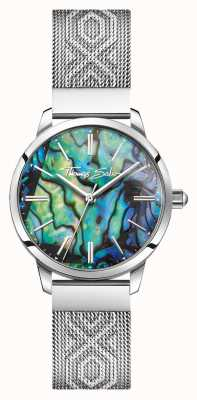 Thomas Sabo |レディースステンレス鋼|色とりどりの真珠層 WA0344-201-218-33