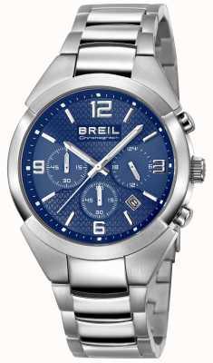 Breil |ステンレススチールストラップブルーダイヤル| TW1328