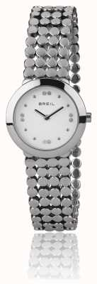 Breil |レディースシルクステンレススチールストラップ| TW1766