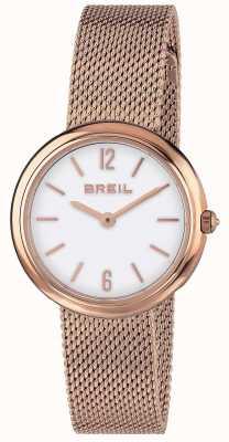 Breil |レディースアイリスローズゴールドメッシュストラップ| Jewelry-stores.co.uk TW1778