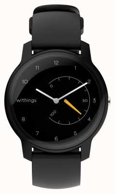 Withings 活動トラッカーを黒と黄色に移動 HWA06-MODEL 1-ALL-INT