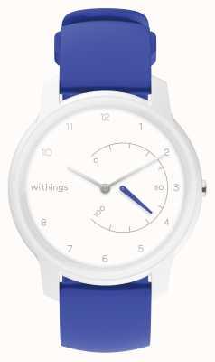 Withings アクティビティトラッカーをホワイト&ブルーに移動 HWA06-MODEL 4-ALL-INT