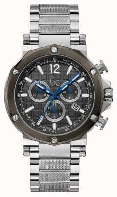 Gc |紳士ステンレススチールブレスレット| Jewelry-stores.co.uk Y53006G5MF