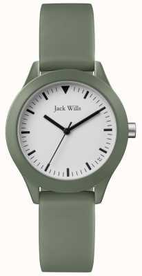 Jack Wills |レディースグレーラバーストラップ|ベクターイラスト| CLIPARTO JW008FGFG