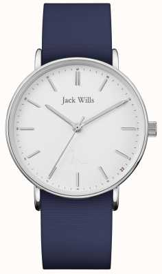 Jack Wills |レディースサンドヒルブルーシリコンストラップ| JW018WHNV