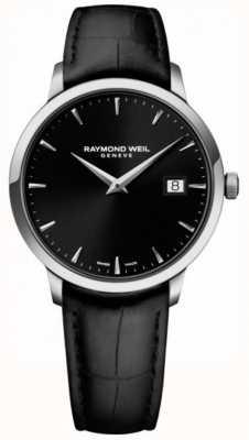 Raymond Weil |メンズトッカータブラックレザー|ブラックダイヤル| 5485-STC-20001