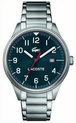 Lacoste |メンズコンチネンタル|ステンレスブレスレット|ブルーダイヤル| 2011022