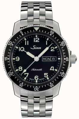 Sinn 104 st saクラシックパイロットウォッチファインリンクスチールブレスレット 104.011 FINE LINK BRACELET