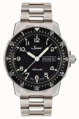 Sinn 104 ST SAクラシックパイロットウォッチ2リンクスチールブレスレット 104.011 TWO LINK BRACELET