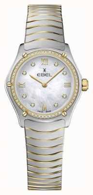 EBEL レディーススポーツクラシック53ダイヤモンド18Kイエローゴールド 1216412A