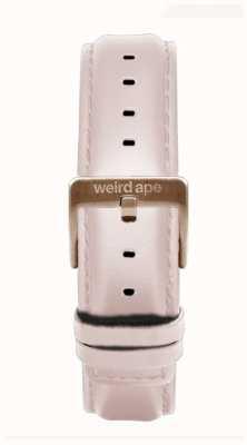 Weird Ape ピンクレザー16mmストラップローズゴールドバックル ST01-000112