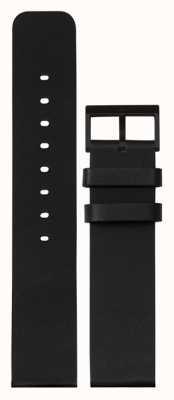 Leff Amsterdam |ブラックレザーストラップ|黒いバックル|写真黒いバックル LT75012-STRAP