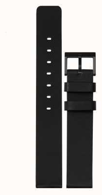Leff Amsterdam |ブラックレザーストラップ|黒いバックル|写真黒いバックル LT74012-STRAP