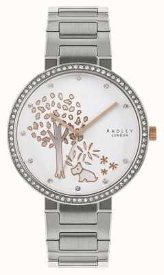 Radley |レディースステンレススチールブレスレット| Jewelry-stores.co.ukツリーモチーフダイヤル|ベクターイラスト| CLIPARTO RY4387
