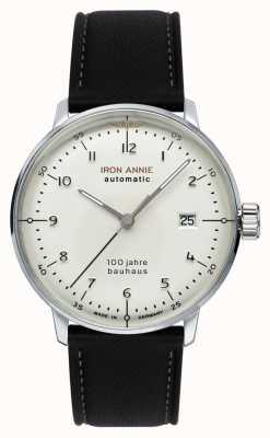 Iron Annie バウハウス|自動|黒革ストラップ| 5056-1