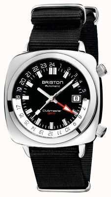 Briston Clubmaster GMT限定版|自動|ブラックナトーストラップ 19842.PS.G.1.NB