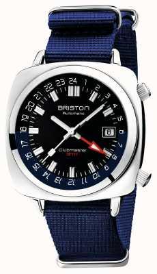 Briston Clubmaster GMT限定版|自動|ブルーナトーストラップ 19842.PS.G.9.NNB