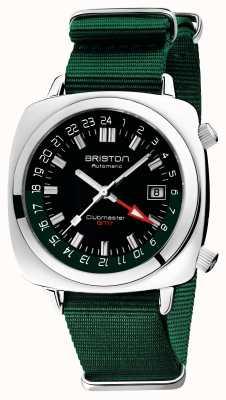 Briston Clubmaster GMT限定版|自動|グリーンナトーストラップ 19842.PS.G.10.NBG