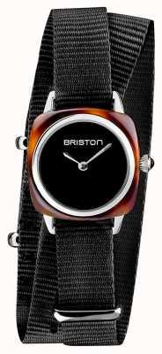 Briston |クラブマスターレディ|シングル黒nato |酢酸カメ| 19924.SA.T.1.NB