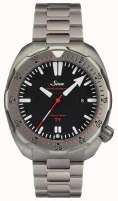 Sinn モデルt1(ezm 14)ダイビングウォッチ 1014.010