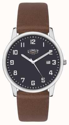 Limit |メンズブラウンレザーストラップ|ブルーダイヤル| 5743.01