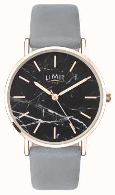 Limit |レディースシークレットガーデン|写真レディースシークレットガーデングレーレザーストラップ|ブラックダイヤル| 60046.73
