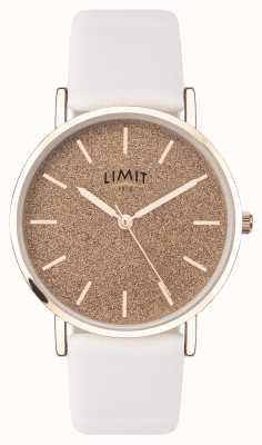 Limit |レディースシークレットガーデン|写真レディースシークレットガーデンホワイトレザーストラップ|ピンクダイヤル| 60044.73