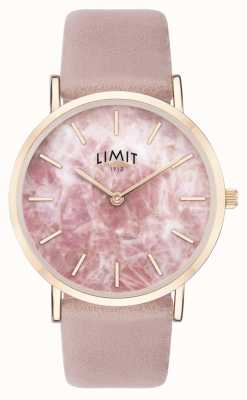 Limit |レディースシークレットガーデン|写真レディースシークレットガーデンピンクレザーストラップ|ピンクダイヤル| 60050.73