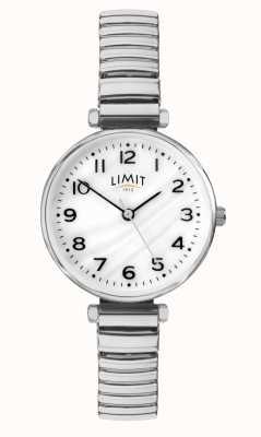 Limit |レディースステンレススチールブレスレット| Jewelry-stores.co.ukパールダイヤルの母|写真パールダイヤルの母 60062.01