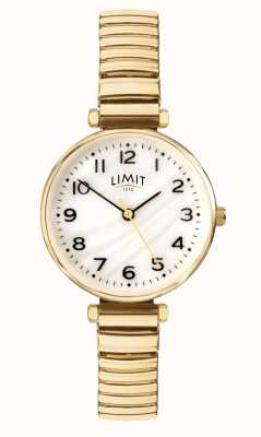 Limit |レディースゴールドプレートブレスレット| Jewelry-stores.co.ukパールダイヤルの母|写真パールダイヤルの母 60063.01