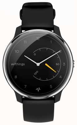 Withings 心電図を移動する|黒と黄|アクティビティトラッカー HWA08-MODEL 1-ALL-INT