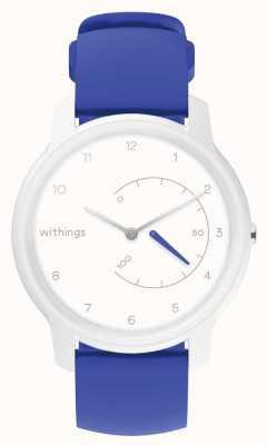 Withings 心電図を移動します。ホワイト&ブルー活動トラッカー HWA08-MODEL 2-ALL-INT