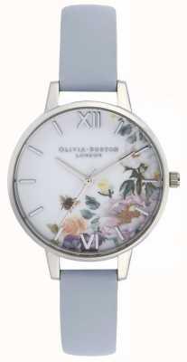 Olivia Burton |レディース|魅惑の庭|チョークブルーレザーストラップ| OB16EG114