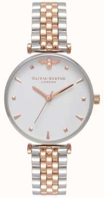 Olivia Burton  レディース女王蜂ツートンカラーのTバーブレスレット  Jewelry-stores.co.uk OB16AM93