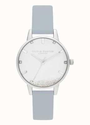 Olivia Burton |レディース希望の時計ビーガンチョークブルーストラップ|ベクターイラスト| CLIPARTO OB16SG07