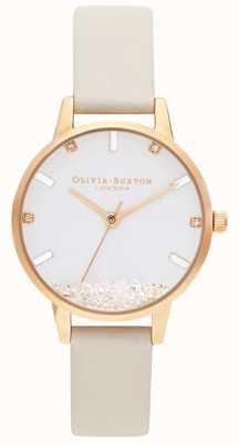 Olivia Burton |レディース希望の時計ビーガンヌードストラップ OB16SG09