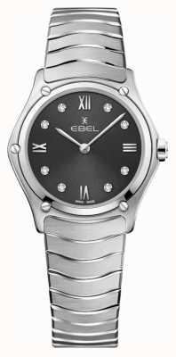EBEL 女性スポーツクラシック|写真女性スポーツクラシックグレーダイヤル|ダイヤモンドセットステンレス 1216416A