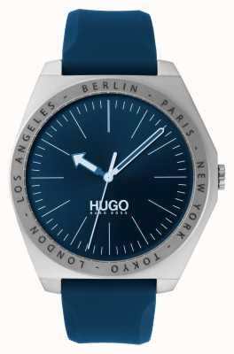 HUGO #act |ブルーラバーストラップ|ベクターイラスト| CLIPARTOブルーダイヤル 1530105