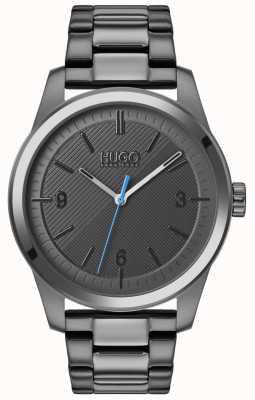 HUGO #create |グレーipブレスレット|写真グレーipブレスレットグレーダイヤル 1530119