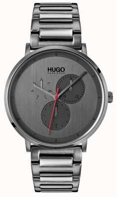 HUGO #guide |グレーipブレスレット|グレーダイヤル 1530012