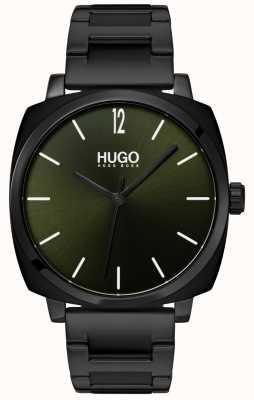 HUGO #own |ブラックipブレスレット|ブラックダイヤル 1530081