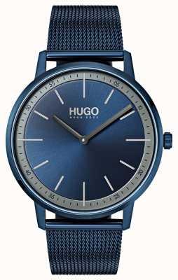 HUGO #存在する|青いipメッシュ|ブルーダイヤル 1520011