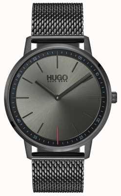 HUGO #存在する|グレーipメッシュ|グレーダイヤル 1520012