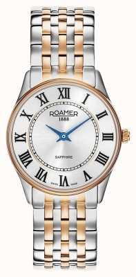 Roamer |女性のソナタ|ツートーンステンレススチール|シルバーダイヤル| 520820 49 15 50