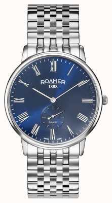 Roamer |男性の銀河|ステンレススチールブレスレット|ブルーダイヤル| 620710 41 45 50