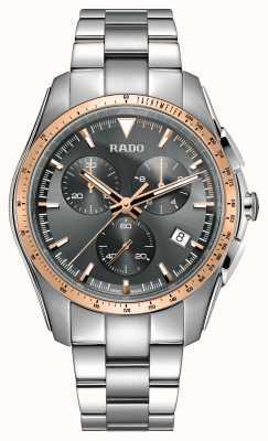 Rado XXLハイパークロームクロノグラフステンレススチールグレーダイヤルウォッチ R32259163