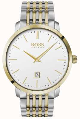Boss |メンズ|プレミアムクラシック|ツートーン|シルバーダイヤル| 1513747