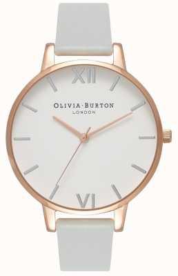 Olivia Burton |レディース|ビッグダイヤル|グレービーガンストラップ| OB16BDV02