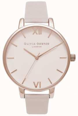 Olivia Burton |レディース|大きな赤面ダイヤル|ブラッシュレザーストラップ OB16BD95